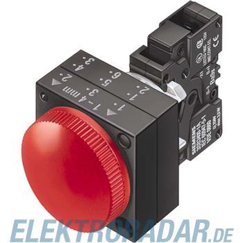 Siemens Komplettgerät rund Leuchtm 3SB3244-6AA60-0CC0