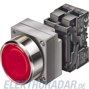 Siemens Komplettgerät rund Leuchtd 3SB3647-0AA21-0PA0