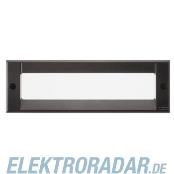 Legrand 760016 Kalank Alu Rechteckig2 LED 1W anthrazit
