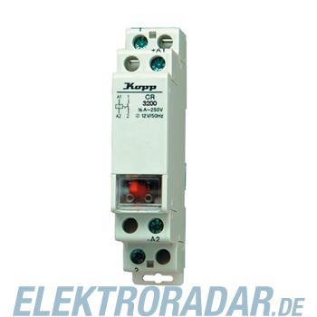 Kopp Stromstoßschalter CR2302, 230 VAC, 2S, 16 A 7608.2000.1