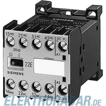 Siemens Hilfsschütz 22E, DIN EN500 3TH2022-1BB4