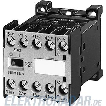 Siemens Hilfsschütz 40E, DIN EN500 3TH2040-1BE4