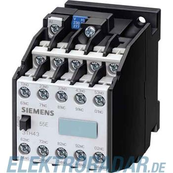 Siemens Hilfsschütz 44E 4NO+4NC 3TH4244-0AG2