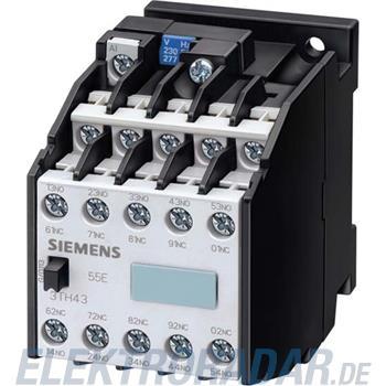 Siemens Hilfsschütz 55E 5NO+5NC 3TH4355-0AN6