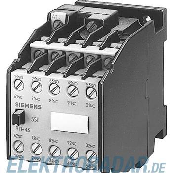 Siemens Hilfsschütz 100E 5NO+5NC 3TH4355-0LF4
