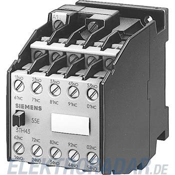 Siemens Hilfsschütz 55E 5NO+5NC 3TH4355-4MD0