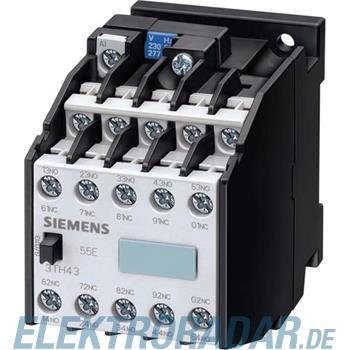 Siemens Hilfsschütz 55E 5NO+5NC 3TH4394-0AU0