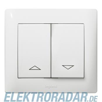 Legrand 767011 Wippe Kontroll mit Symbolen Galea ultraweiss antib