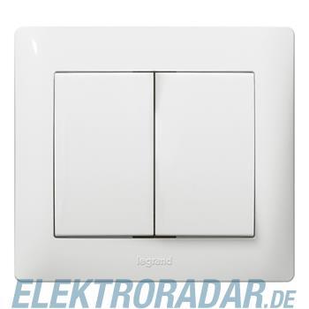 Legrand 767012 Wippe Serie Galea ultraweiss antibakteriell