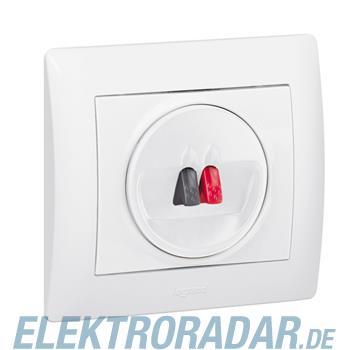 Legrand 771000 Abdeckung Hi-Fi Lautsprecher 1-fach Galea ultrawei