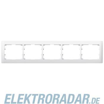 Legrand 771005 Rahmen 5-fach waagerecht Galea ultraweiss