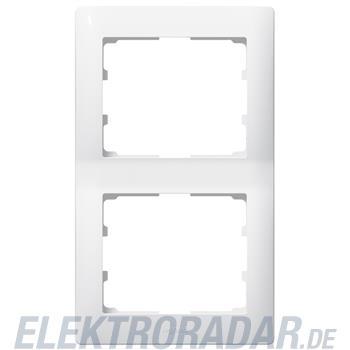Legrand 771006 Rahmen 2-fach senkrecht Galea ultraweiss