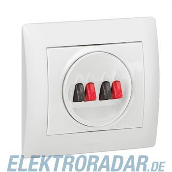 Legrand 771025 Abdeckung Hi-Fi Lautsprecher 2-fach Galea ultrawei
