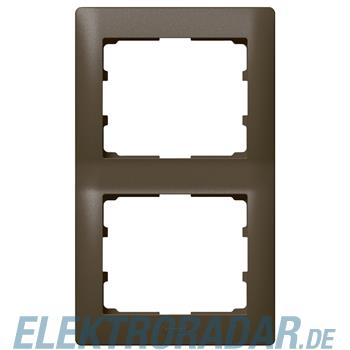 Legrand 771206 Rahmen 2-fach senkrecht Galea dark bronze