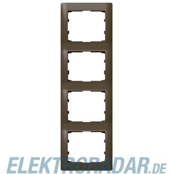 Legrand 771208 Rahmen 4-fach senkrecht Galea dark bronze