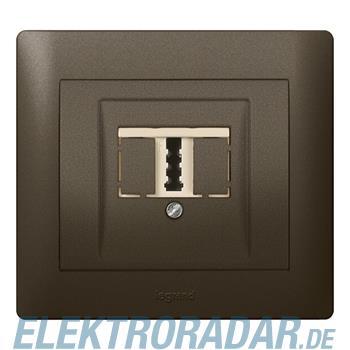 Legrand 771242 Abdeckung TAE Galea dark bronze