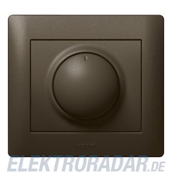 Legrand 771268 Abdeckung Drehdimmer Galea dark bronze