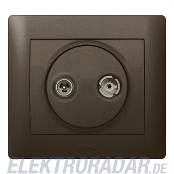 Legrand 771272 Abdeckung Antennen-Steckdose 2-Loch TV-RSystem Leg