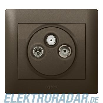 Legrand 771273 Abdeckung Antennen-Steckdose 3-Loch TV-R-SAT Syste