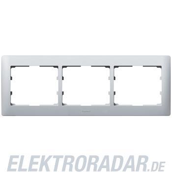 Legrand 771303 Rahmen 3-fach waagerecht Galea soft aluminium
