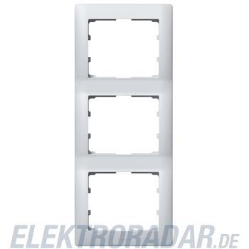 Legrand 771307 Rahmen 3-fach senkrecht Galea soft aluminium