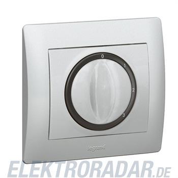 Legrand 771357 Abdeckung Dreh- u.Zeitschalter Galea soft aluminiu