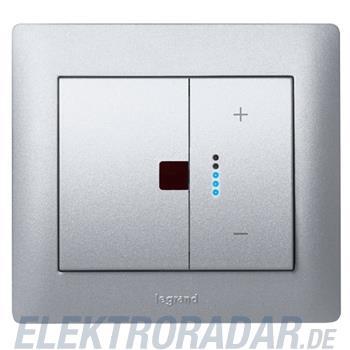 Legrand 771390 Wippe IOBL Dimmer Funk Galea soft aluminium