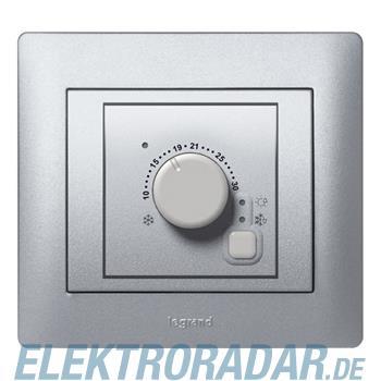 Legrand 771394 Raumthermostat IOBL PLC Galea soft aluminium