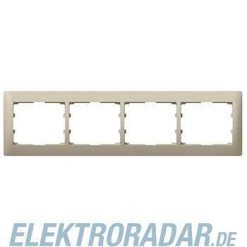 Legrand 771404 Rahmen 4-fach waagerecht Galea titanium