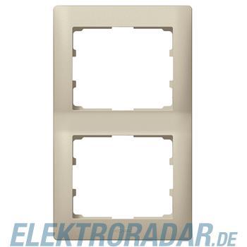 Legrand 771406 Rahmen 2-fach senkrecht Galea titanium