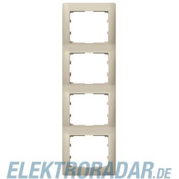 Legrand 771408 Rahmen 4-fach senkrecht Galea titanium