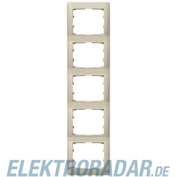 Legrand 771409 Rahmen 5-fach senkrecht Galea titanium