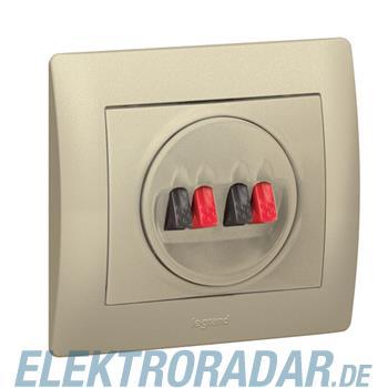 Legrand 771425 Abdeckung Hi-Fi Lautsprecher 2-fach Galea titanium