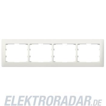 Legrand 771504 Rahmen 4-fach waagerecht Galea perlmutt