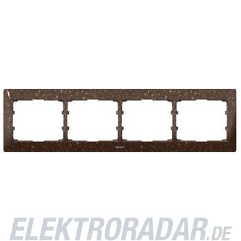 Legrand 771704 Rahmen 4-fach waagerecht Galea Corian® Cocoa Brown