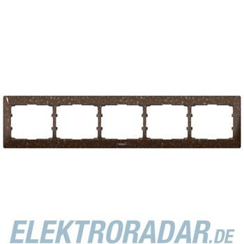 Legrand 771705 Rahmen 5-fach waagerecht Galea Corian® Cocoa Brown