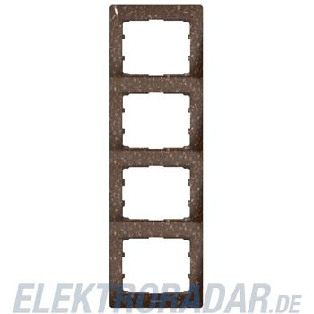 Legrand 771708 Rahmen 4-fach senkrecht Galea Corian® Cocoa Brown
