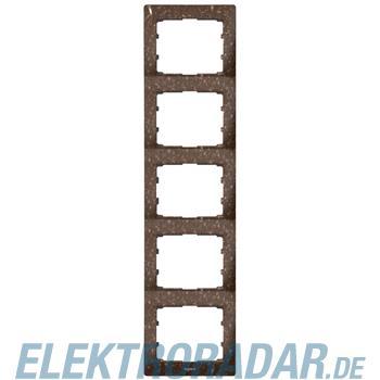 Legrand 771709 Rahmen 5-fach senkrecht Galea Corian® Cocoa Brown