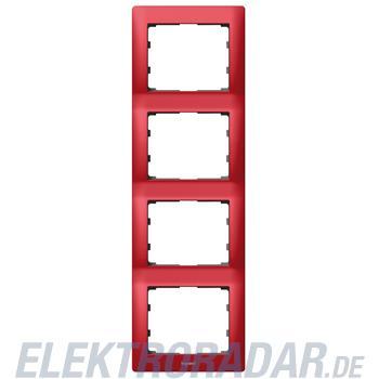 Legrand 771908 Rahmen 4-fach senkrecht Galea magic red