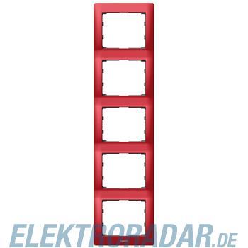 Legrand 771909 Rahmen 5-fach senkrecht Galea magic red