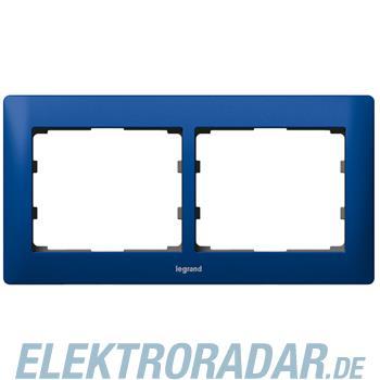 Legrand 771912 Rahmen 2-fach waagerecht Galea magic blue