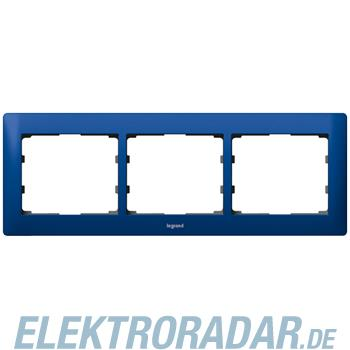 Legrand 771913 Rahmen 3-fach waagerecht Galea magic blue