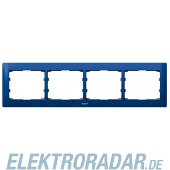Legrand 771914 Rahmen 4-fach waagerecht Galea magic blue
