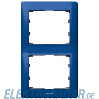 Legrand 771916 Rahmen 2-fach senkrecht Galea magic blue