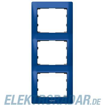 Legrand 771917 Rahmen 3-fach senkrecht Galea magic blue