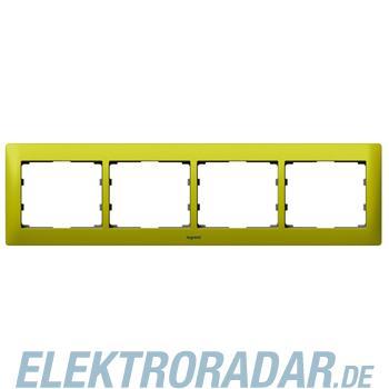 Legrand 771924 Rahmen 4-fach waagerecht Galea magic green