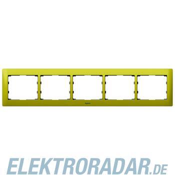 Legrand 771925 Rahmen 5-fach waagerecht Galea magic green