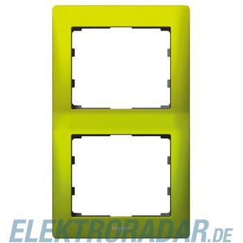 Legrand 771926 Rahmen 2-fach senkrecht Galea magic green