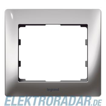 Legrand 771931 Rahmen 1-fach Galea silver chrome
