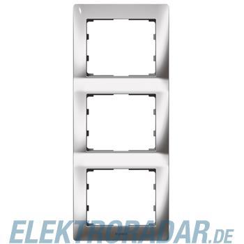 Legrand 771937 Rahmen 3-fach senkrecht Galea silver chrome